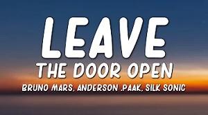 Bruno Mars, Anderson .Paak - Leave The Door Open