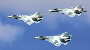 Su-57 aircraft sound