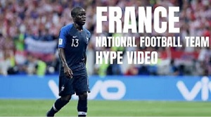 France National Football Team - Ramenez la coupe a la maison