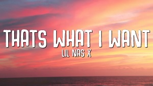 Lil Nas X - Thats What I Want